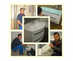 Vízszerelés, fűtésszerelés, csatornázás