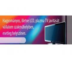 TV -LCD JAVÍTÁS  GYÁL, ÓCSA, VECSÉS   06203412227