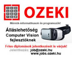 Computer vision alkalmazásfejlesztő