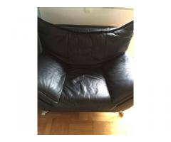 Bőr(valódi) ülőgarnitúra  (3db-os)eladó