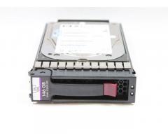 HP 146GB 10k sas diszk kerettel