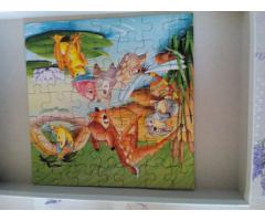 Hiányos Bambi Puzzle