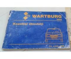 Wartburg 1.3 Limousine Tourist Trans Kezelési utasítás