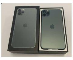 Apple iPhone 11 Pro 64GB  = 400 EUR,  iPhone  11 Pro Max 64GB = 430 EUR ,iPhone 11 64GB = €350 EUR
